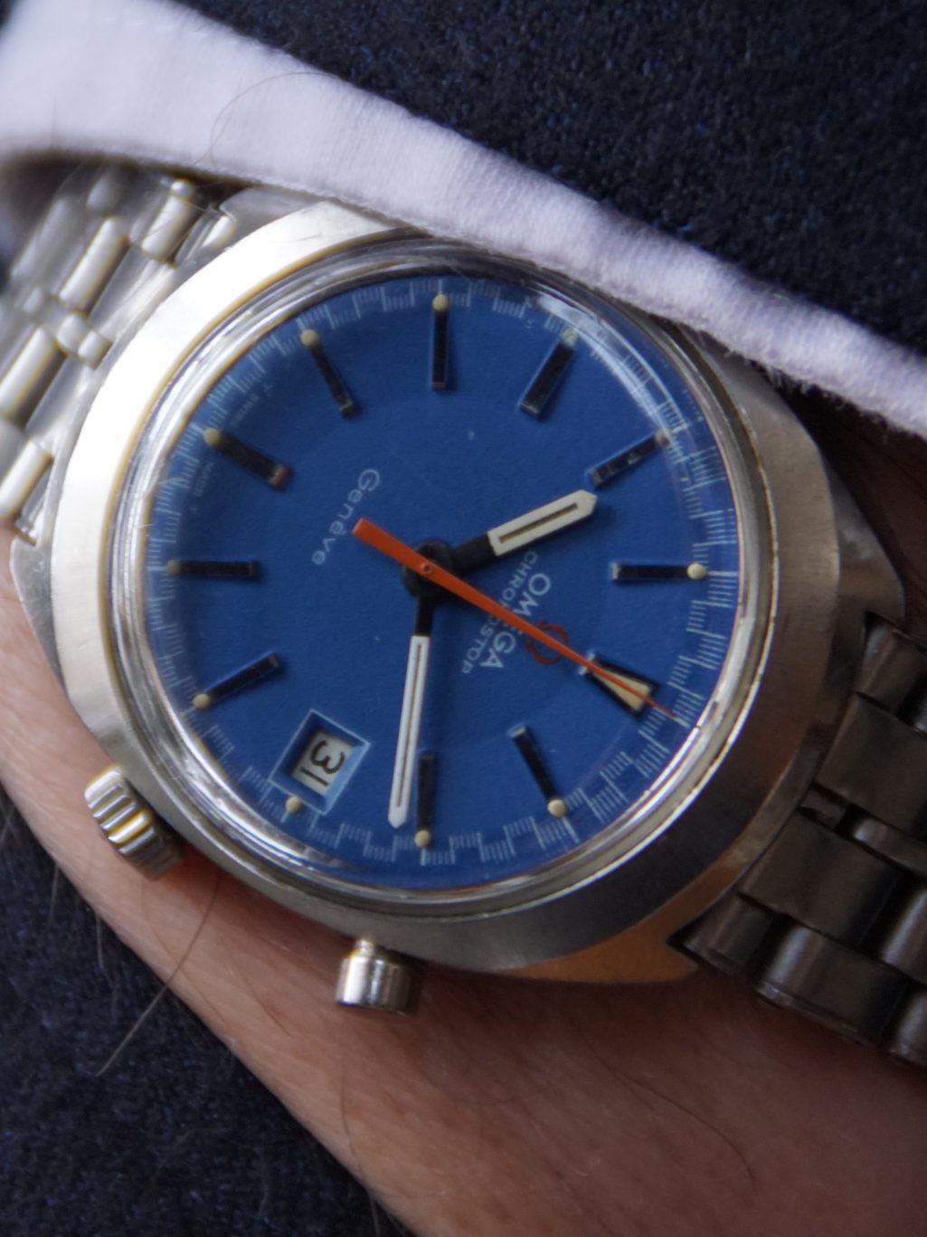 Omega Genève Chronostop Cal. 920 146.009