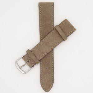 beige-leren-velours-strap-horlogebandje