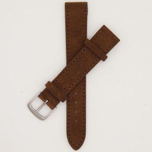 bruine-velours-strap-leren-horlogebandje-2