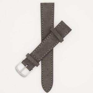 grijs-velours-strap-leren-horlogebandje