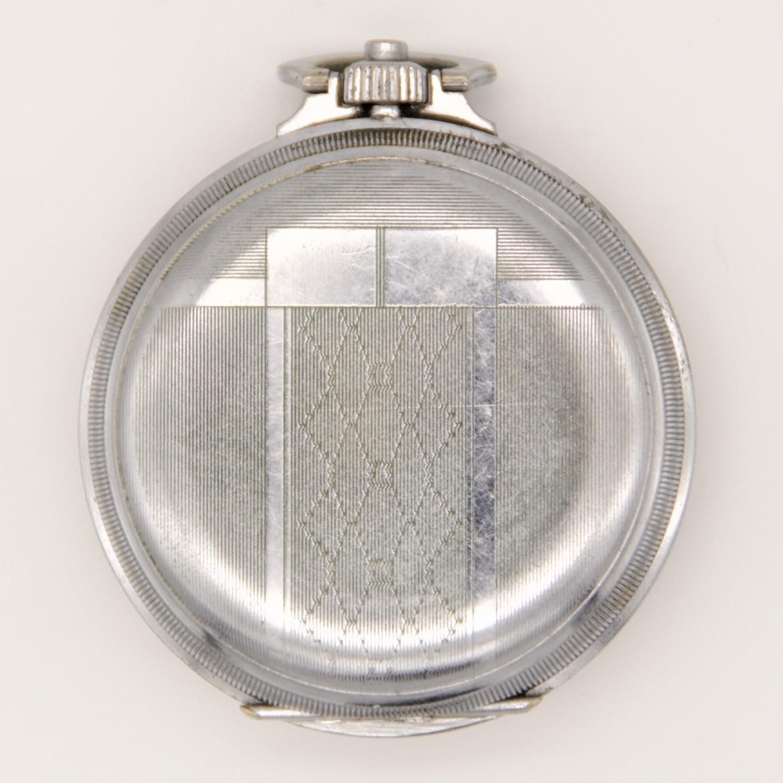 vintage chronograaf zakhorloge-achterkant