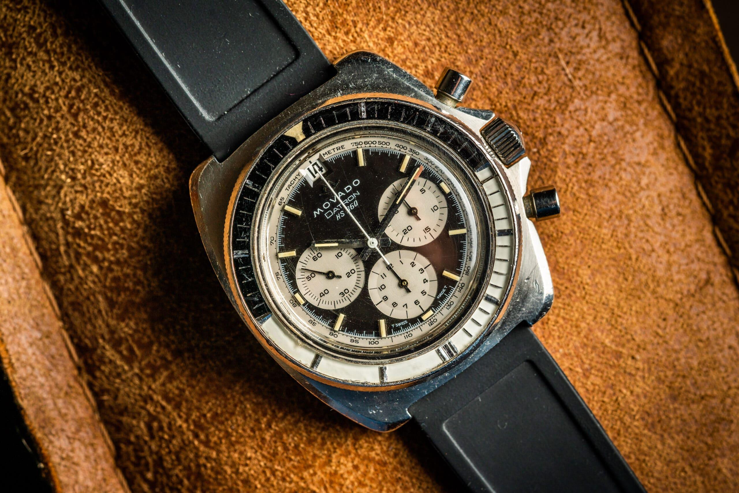 Vintage Movado Datron hs360 zenith el primero watch