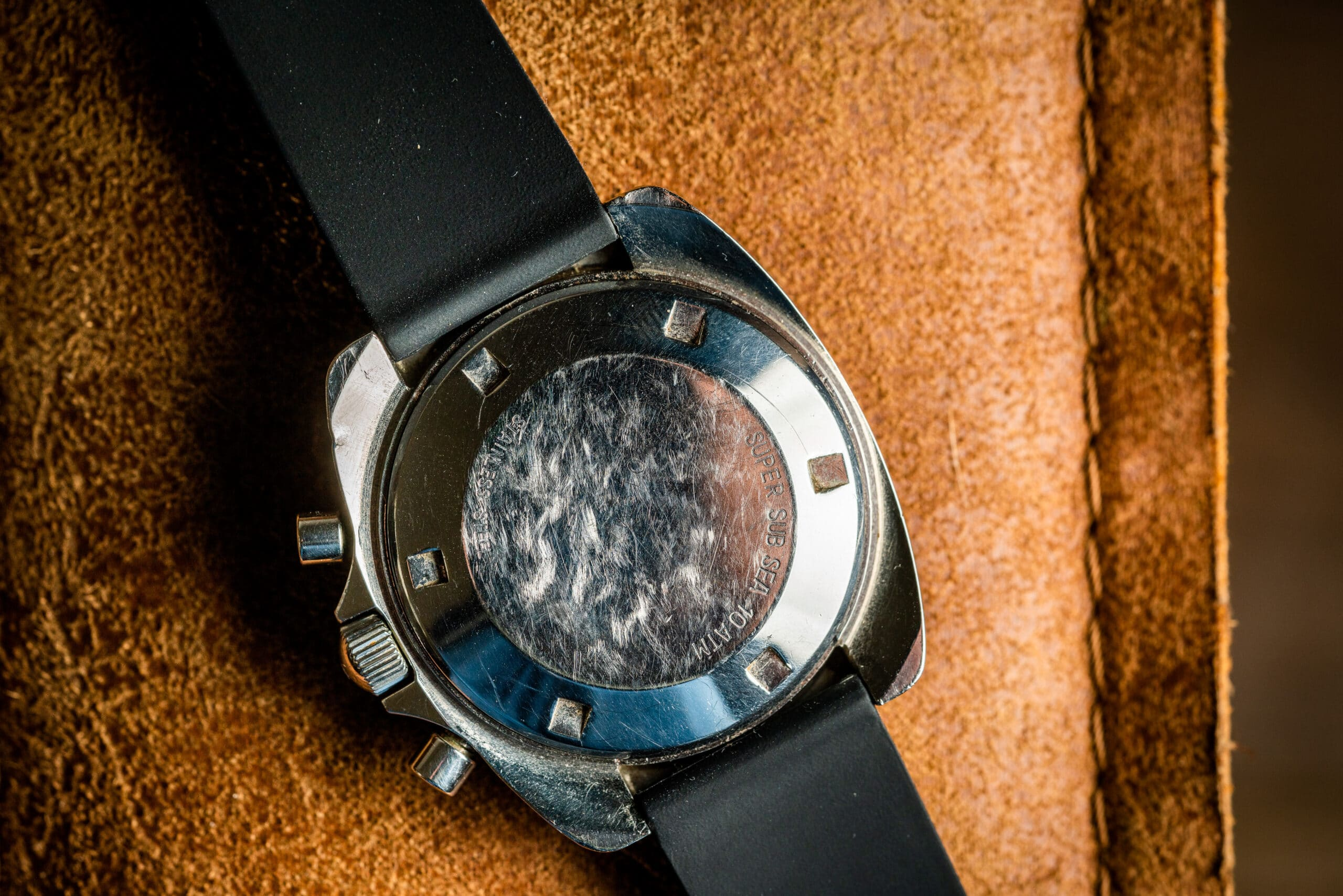 Vintage Movado Datron hs360 zenith el primero watch caseback