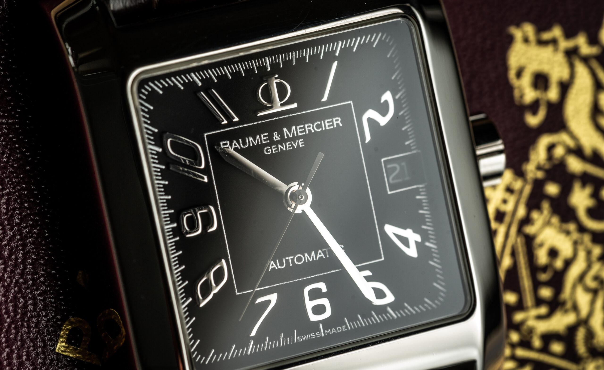 Baume et mercier hampton xl 65532 watch dial